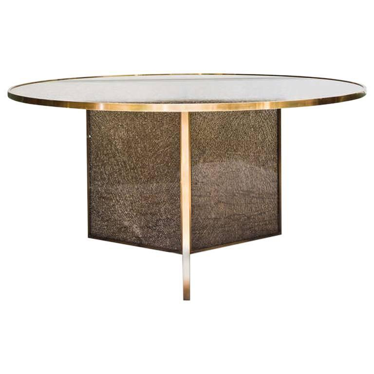 Fractured Dining Table For Sale at 1stdibs