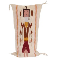 Yei Weaving Pillow