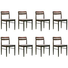 Vintage Danish Rosewood Dining Chairs