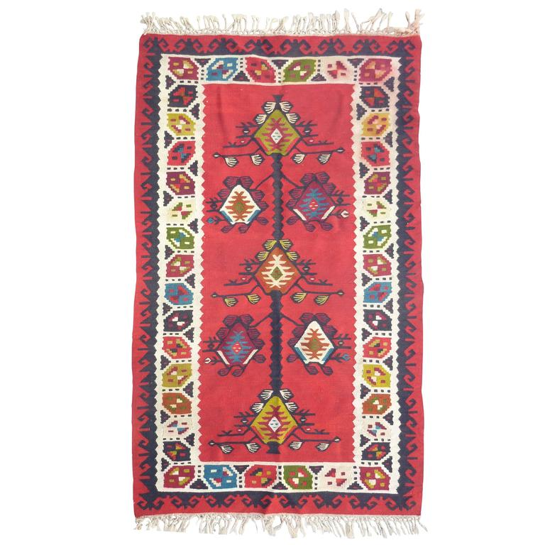 Prayer Sharkoy Kilim from Balkan For Sale