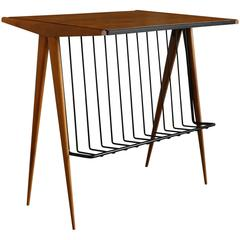 Occasional Table Or Magazine Rack By Arthur Umanoff