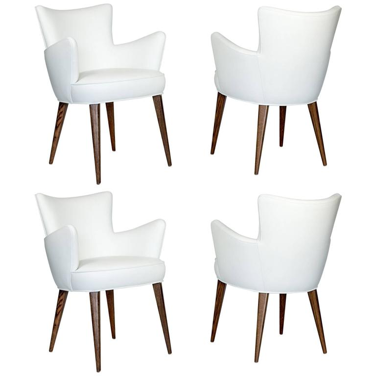 Set of Four Aube Chairs
