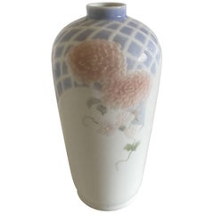 Royal Copenhagen Relief Bas Patterned Vase by Anna Smidth