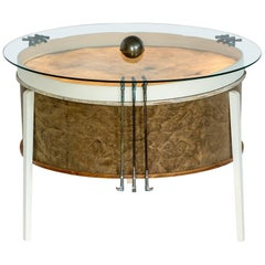 Coffee Table from Bass Drum