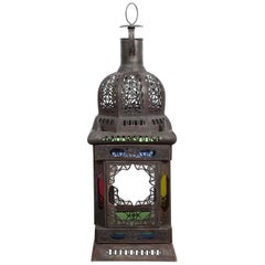 Moroccan Moorish Glass Candle Lantern or Pendant