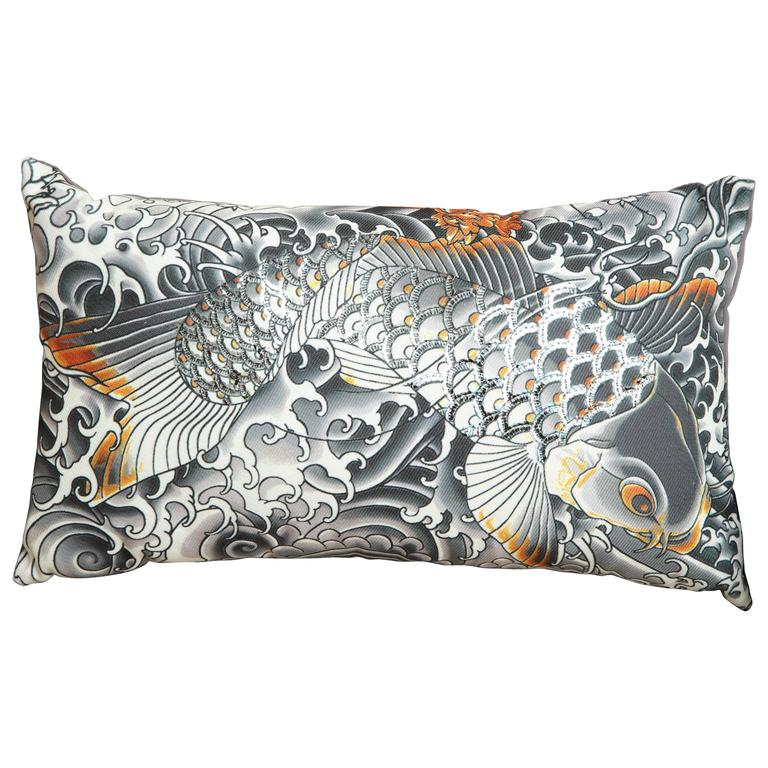 Ultra Modern Pillows : Ultra Chic Pillow by Jean Paul Gaultier For Sale at 1stdibs