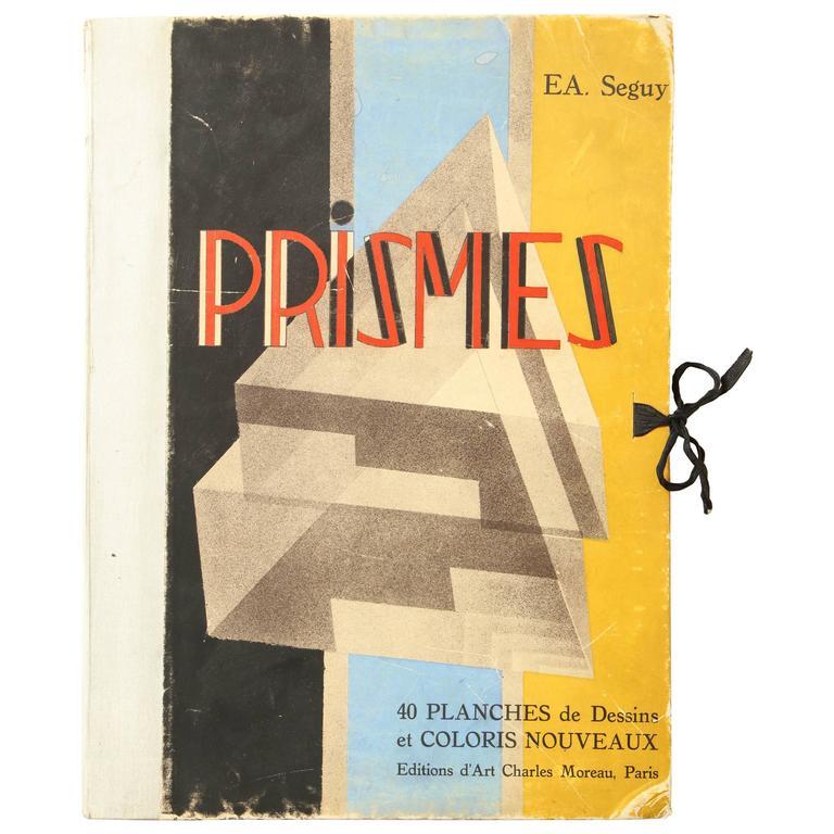 """Prismes"" by E.A. Seguy For Sale"