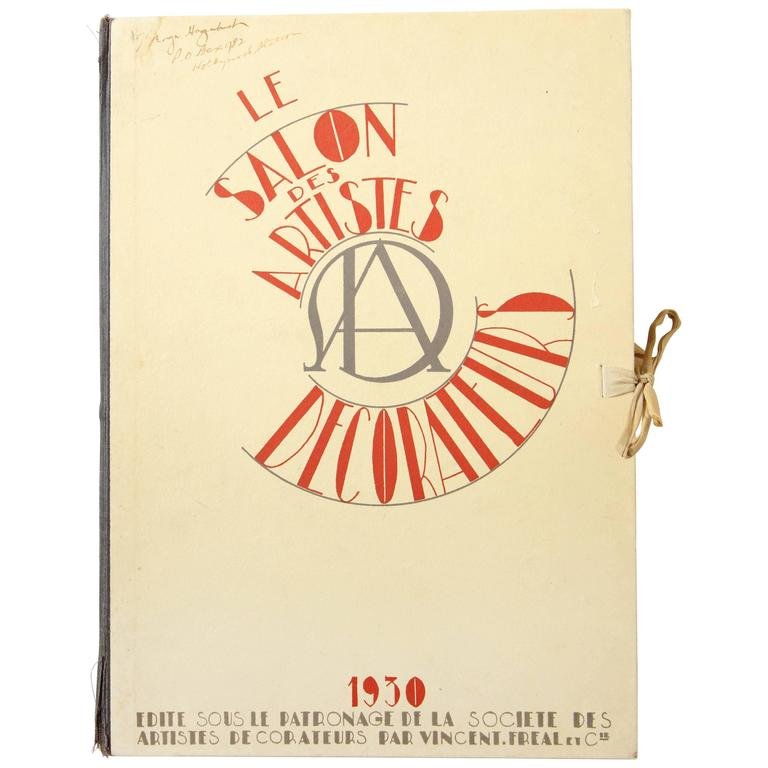 """""""Le Salon Des Artistes Decorateurs 1930"""" by Marcel Chappey"""