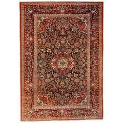 Unbelievable Early 20th Century Kashan Rug