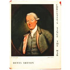 Christie's Since The War, by Denys Sutton First Edition