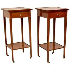 Pair of Swedish 18th Century Bedside Tables