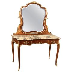 Beautiful Late 19th Century Bronze Mounted Dressing Table by François Linke