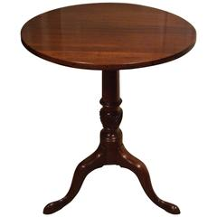 18th Century Beautiful Small Mahogany 'Tilt-Top' Side Table