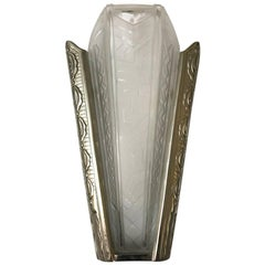 French Art Deco Sconce by P. Maynadier