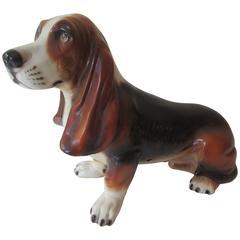 Montebello Ceramic Bassett Hound Life Size