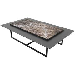 Tungen Marble Table, Jan Garncarek