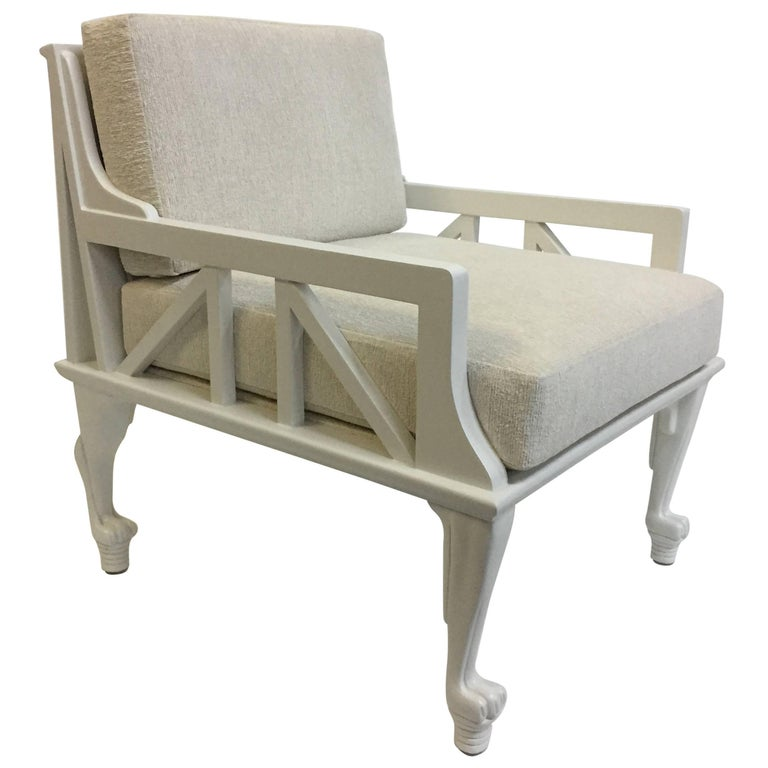"John Hutton ""Thebes"" Chair Designed for Randolph & Hein For Sale"