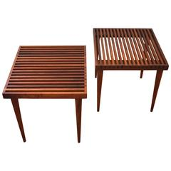 Pair of Side Tables by Mel Smilow