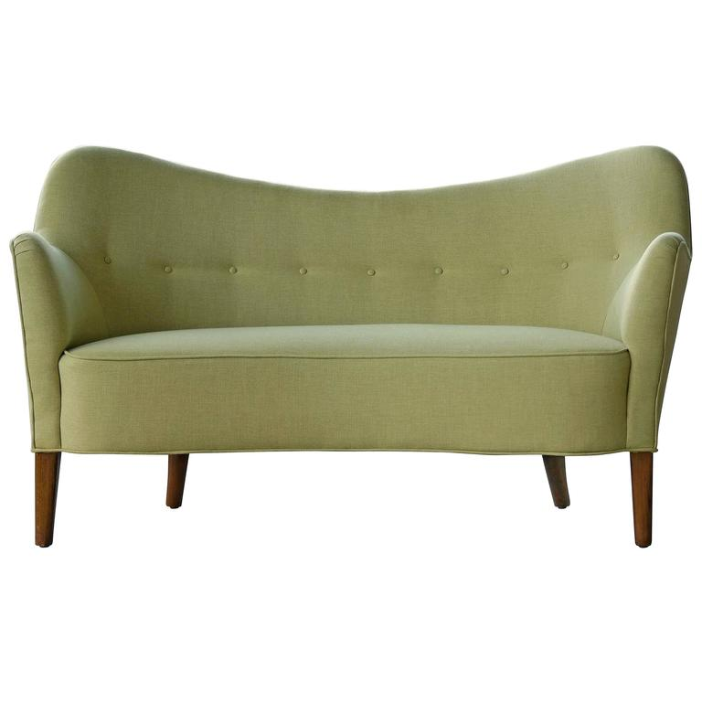 Finn Juhl Attributed Loveseat Model 185 by Slagelse Mobelvaerk For Sale