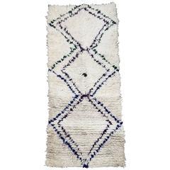 Moroccan Beni Ouarain Tribal Rug