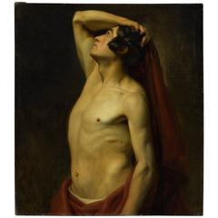 18th Century French School Portrait of a Man
