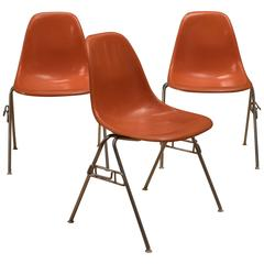 Mid Century Herman Miller Eames Shell Chairs