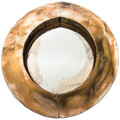 Irys Mirror One of a Kind Piece Handmade Silvering Jewel Piece
