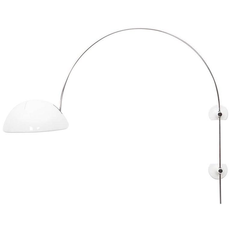 Rare Joe Colombo Wall-Mounted Lamp by O-Luce