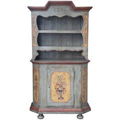 Superb 19th Century Italian Hand-Painted Dresser