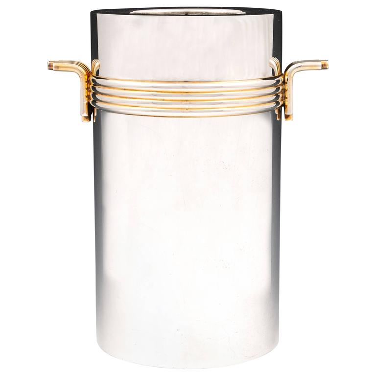 Vintage Silver-plate Christian Dior Wine Cooler