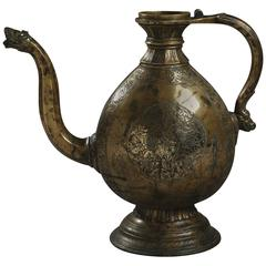 Mughal Bronze Ewer from 18th Century
