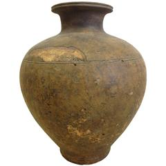 Large Ancient Khmer Urn or Vase