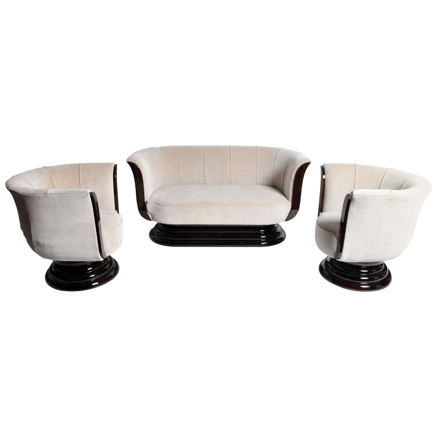 Art Deco Sofas 123 For Sale at 1stdibs
