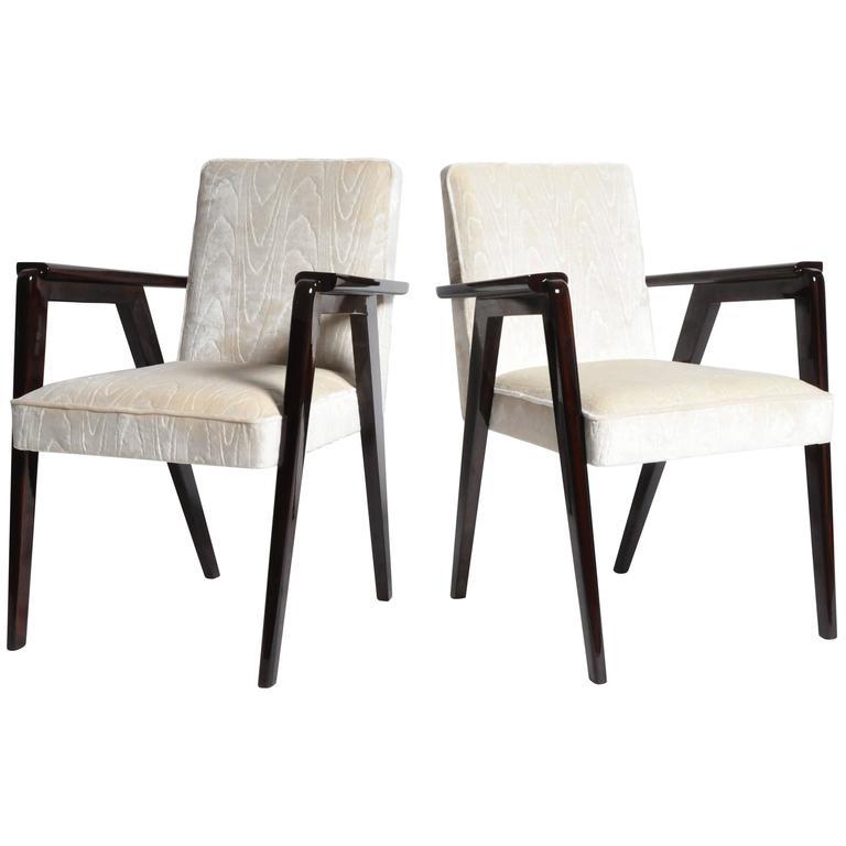 Pair of Original Bridge Chairs