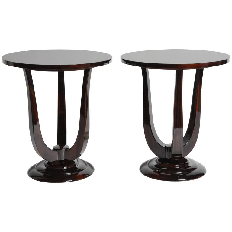 Mid-Century Style Side Tables
