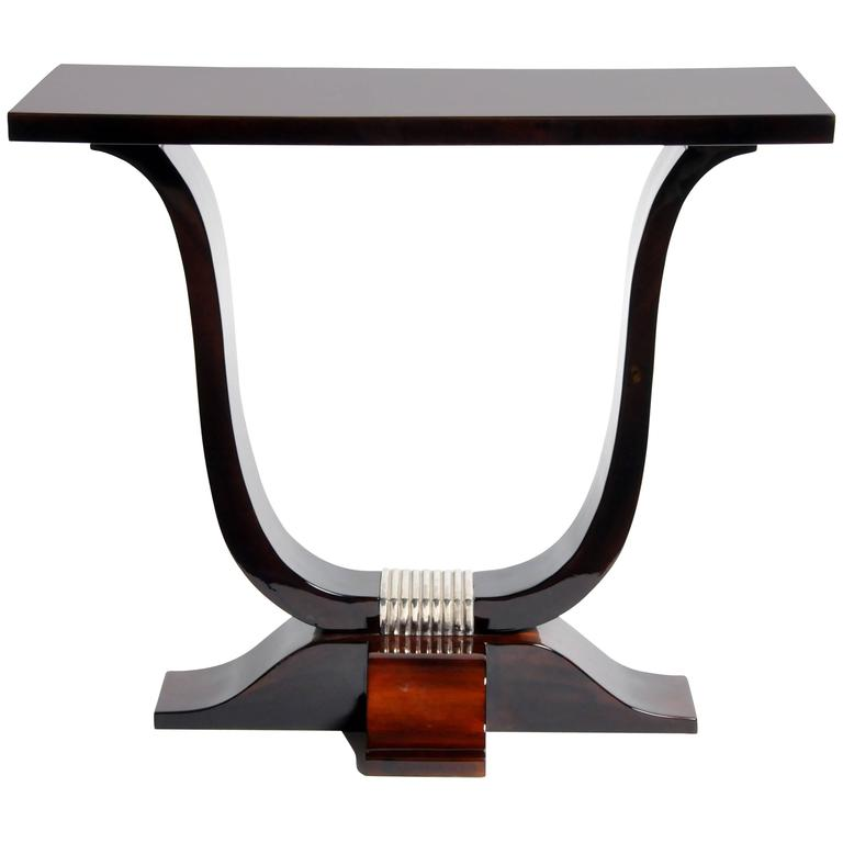 Hungarian Art Deco Style Table For Sale