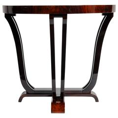 Art Deco Style Half-Round Console Table