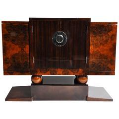 Art Deco Style Bar Cabinet