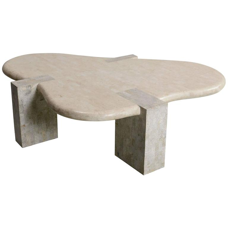 Maitland Smith Tessellated Stone Coffee Table 1970s For Sale At 1stdibs