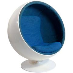 Original Vintage 'Ball Chair' Designed by Eero Aarnio in 1963