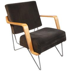 Cees Braakman for Pastoe, Vintage Brown Combex Chair FM03, 1954