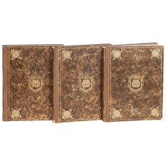 Moss Harris & Sons Catalogue and Index of Old Furniture in Three Volumes