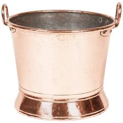 Victorian Copper Pail or Wine Cooler