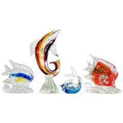 Colorful Murano Glass Fish