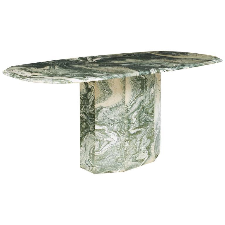Verde Luana Italian Marble Dining Table at 1stdibs : 7185593l from www.1stdibs.com size 768 x 768 jpeg 39kB