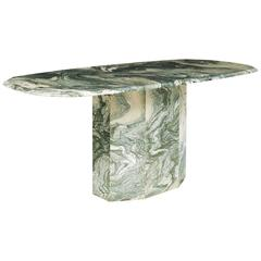 Verde Luana Italian Marble Dining Table