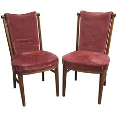 Set of 18 Fine German Art Deco Chairs