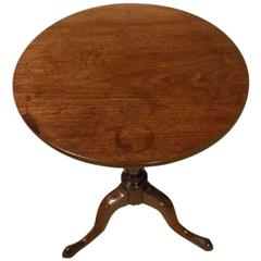 Good Mahogany George III Period Tripod Table
