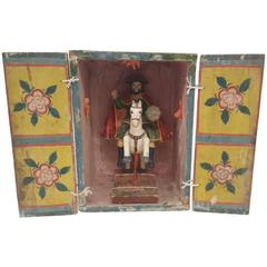 19th Century Portable Shrine of Santiago Matamoros, St. James