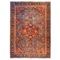 Outstanding 19th Century Qashqai Rug